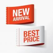 Nově příchozí a nejlepší cenu štítky