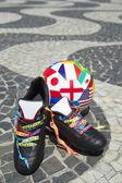 Brazilské fotbalové boty mezinárodní fotbalový míč