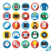 Modern Vector Flat Icons Set 6