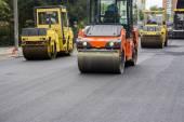 Lisovače válečkové během výstavby silnic
