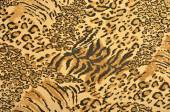 Brown and black leopard and tiger fur pattern.