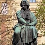 Постер, плакат: Ludwig van Beethoven Statue in Vienna Austria