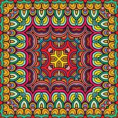 Színes geometrikus minta, vektoros illusztráció