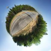 360 road panorama