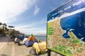 Stany válečných uprchlíků v přístavu Kos