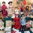Постер, плакат: Antique dolls The 5th Moscow International Exhibition of Collectible Dolls Art of Dolls December 2014