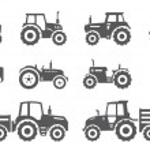 Постер, плакат: Tractors