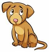 Egy idomított kutya