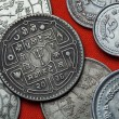 Постер, плакат: Different Coins of Nepal