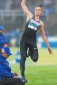Ivana Spanovic in the long jump at the IAAF Diamond League in Stockholm