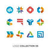 Logo collection 05 Vector graphic design elements for company logo
