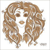 Zodiac sign - Virgo.