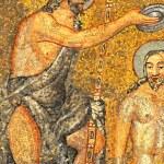 ������, ������: John the Baptist roman mosaic