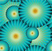 Seamless backgroundabstract glowing circles Copy that square to the side and you'll get seamlessly tiling pattern which gives the resulting image the ability to be repeated or tiled without visible seams