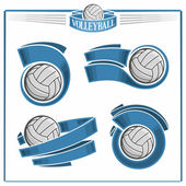 Volleyball-Embleme