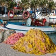 Постер, плакат: Traditional fishing boats in Greece