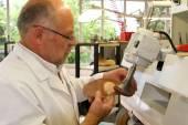 Doktor, Příprava pacienta na jeho worksho ortopedické vložky