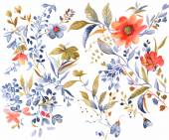 Akvarel květ