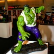 Постер, плакат: A model of the character Hulk from the movies and comics