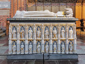 Sarkofág královny Margaret v Roskilde Cathedral, Dánsko