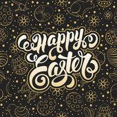 Velikonoční pozdrav card design