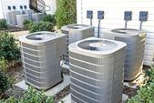 Klimatizační jednotky v bytě komplex