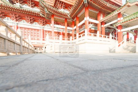 传统的中国古代建筑
