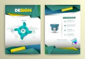Vector design page template modern style Vector illustration Can use for business data report presentation web page brochure leaflet flyer poster and advertising