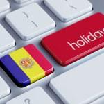 Постер, плакат: Andorra Holidays Concept