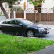 Постер, плакат: Honda Accord parked on the streets of Sochi