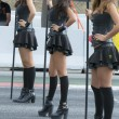 Постер, плакат: Pit lane girls Monster Energy