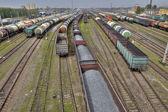 Vagóny nákladní vlaky na komerční železnice, St. Petersburg