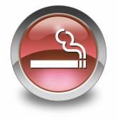 Ikony, tlačítka, piktogram pro kuřáky