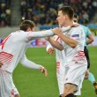 Постер, плакат: Semi final UEFA Europa League match between Shakhtar vs FC Sevilla