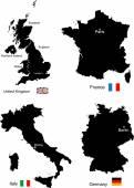 Regno Unito, Francia, Italia e Germania