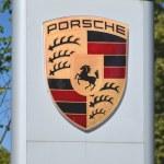 Постер, плакат: Emblem of Porsche