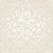Wedding vintage floral ecru wallpaper background decorative design