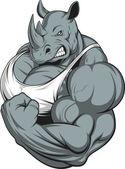 Silného nosorožce