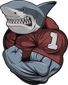 Rozzlobený bílý žralok
