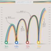 Infographic nyíl diagram diagram diagram