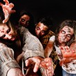 Постер, плакат: Scary angry zombies