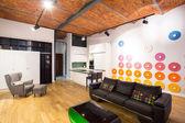 Helle moderne lounge