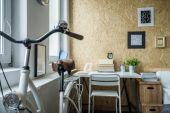 Sistemazione in camera piccola con posto per biciclette