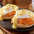 Постер, плакат: Eggs Benedict with Smoked Salmon