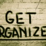 Постер, плакат: Get Organized Concept