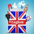 Постер, плакат: English language