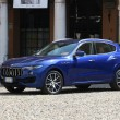 Постер, плакат: MODENA ITALY SEPTEMBER 2016 New Maserati car model Levante