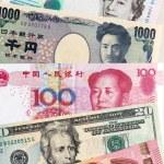 Постер, плакат: Global banknotes currency