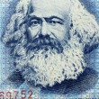 Постер, плакат: EAST GERMANY APPROXIMATELY 1990: Karl Marx portrait on 100 mark 1990 Banknote from DDR