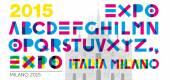 Expo 2015 Schriften